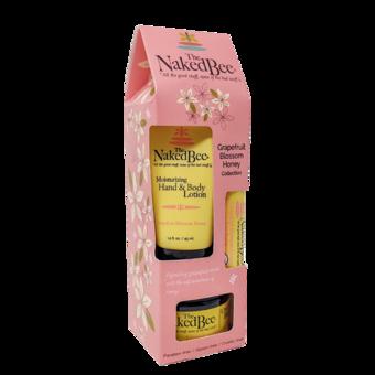 Gift Set - Lotion, Lip Balm & Body Butter - Grapefruit Blossom Honey