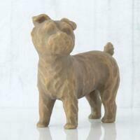 Willow Tree: Love My Dog - Standing Dark Brown Dog