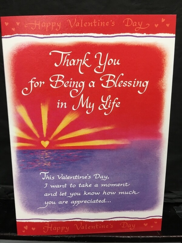Valentine - Thank you for Being a Blessing in My Life  - Blue Mountain Arts Cards
