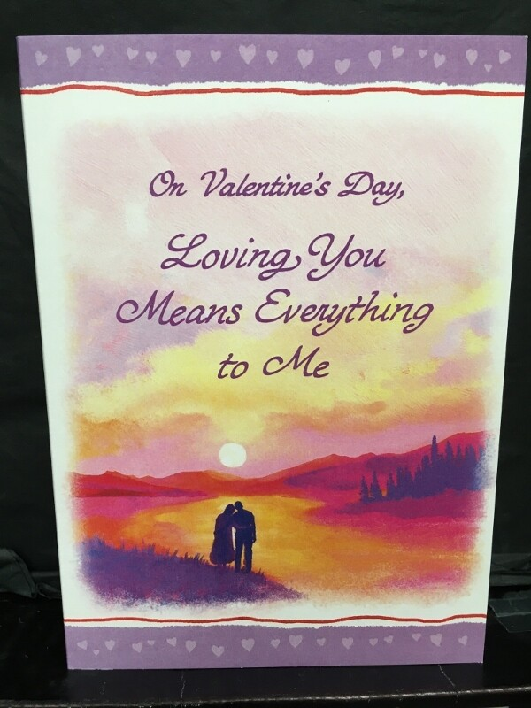 Valentine - On Valentine's Day, Loving You Means Everything to Me - Blue Mountain Arts Cards