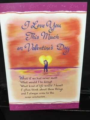 Valentine - I Love You This Much - Blue Mountain Arts Cards