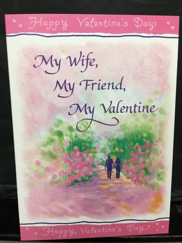 Valentine - My Wife, My Friend, My Valentine - Blue Mountain Arts Cards