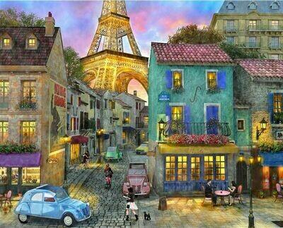 Eiffel Magic - 1000 Piece Springbok Puzzle