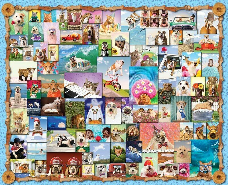 Animal Quackers - 1000 Piece Springbok Puzzle