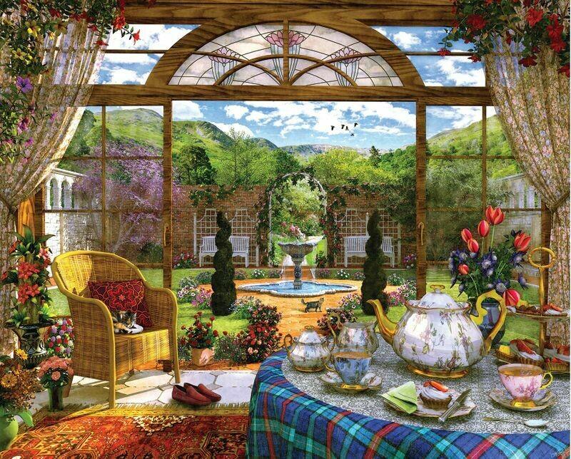 The Conservatory - 1000 Piece Springbok Puzzle