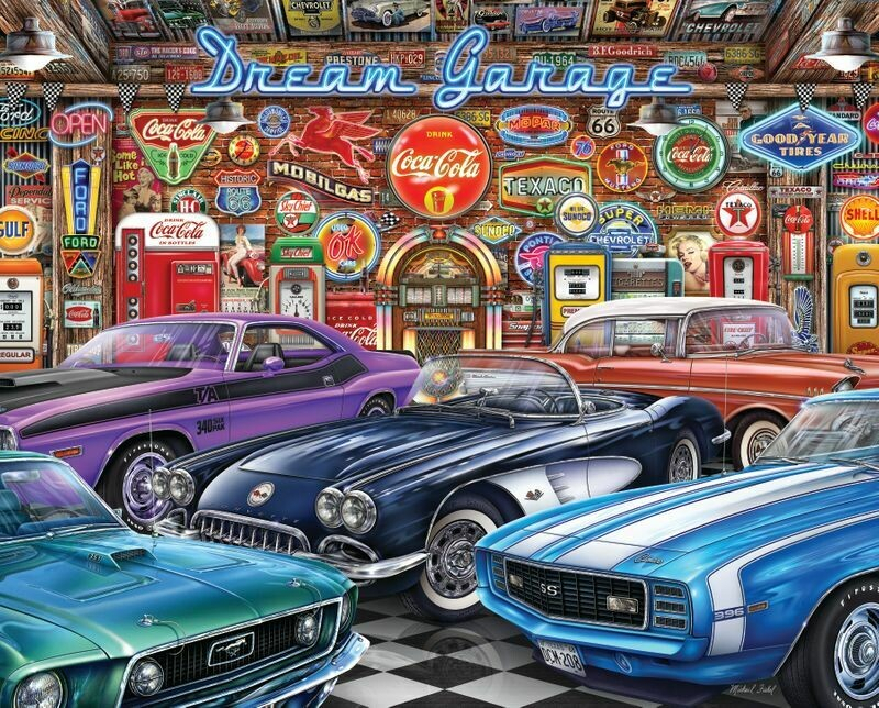 Dream Garage - 1000 Piece Springbok Puzzle
