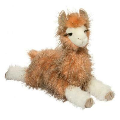 Lizzie - Llama - 17 inch - Douglas Plush