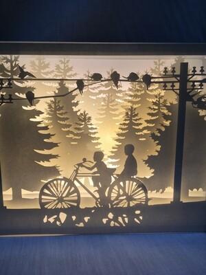 Memory - Paper Art Led Light Box