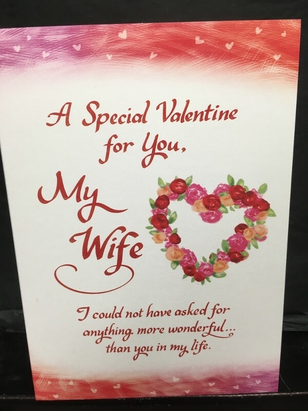 Valentine - A Special Valentine for you, My Wife - Blue Mountain Arts Cards