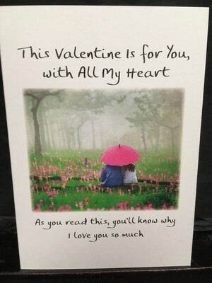 Valentine - This Valentine is for you, with all my Heart - Blue Mountain Arts Cards