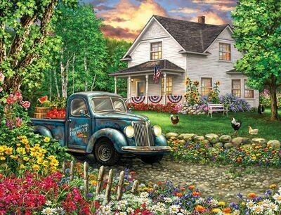 Simpler Times - 500 Piece Springbok Puzzle