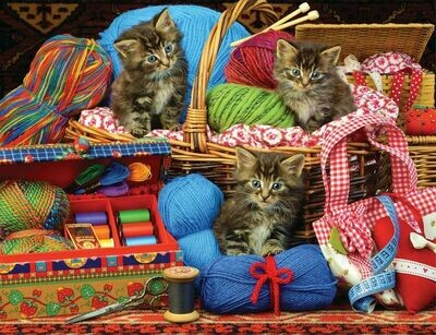 Sew Cute - 500 Piece Springbok Puzzle