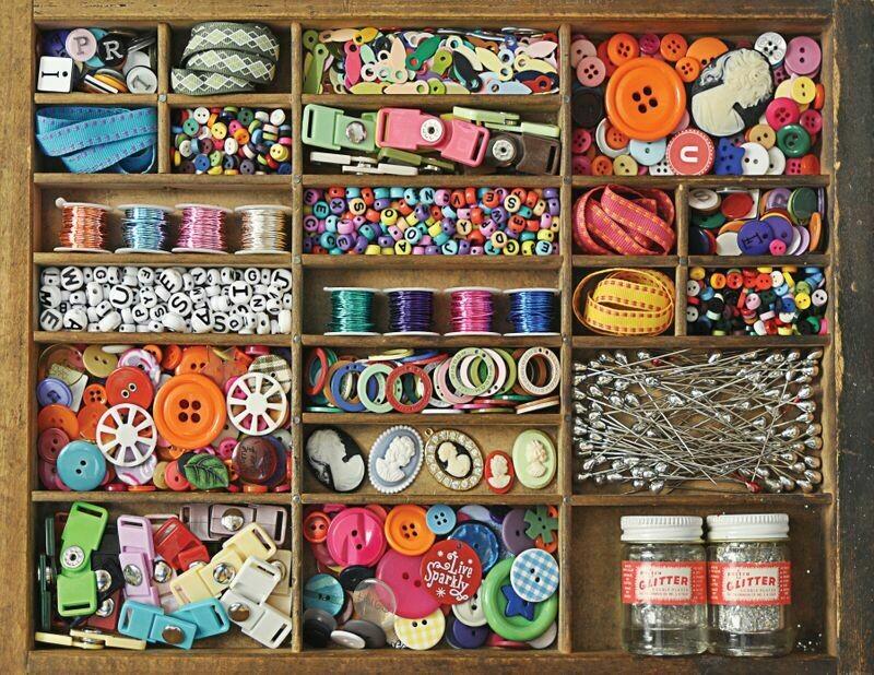 Sewing Box - 500 Piece Springbok Puzzle