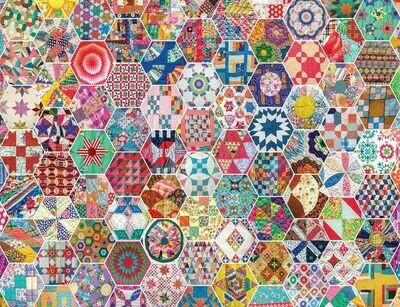 Crazy Quilts - 500 Piece Springbok Puzzle