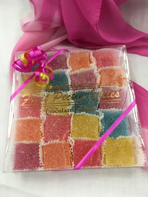 Fruit Pectin Jellies - 20 pcs - Assorted Flavours