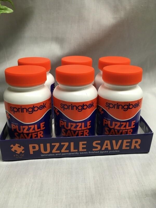 Puzzle Saver Glue - Springbok - 4 oz