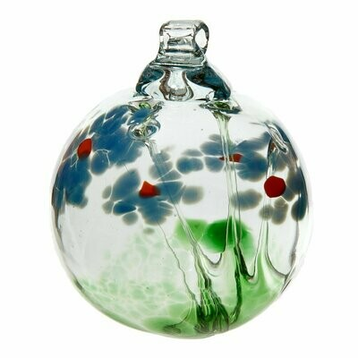 "2"" Blossom Friendship Ball - Sympathy - Canadian Blown Glass"