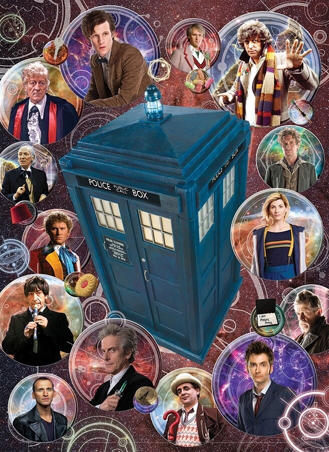 Doctor Who: The Doctors - 1000 Piece Cobble Hill Puzzle