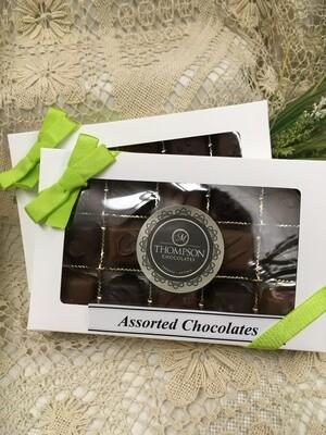 Assorted Chocolates including Sea Salt Caramels - Milk and Dark - 225g