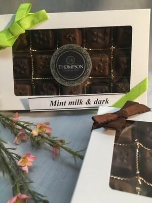 Mint Melodies - Milk and Dark chocolate - 225g