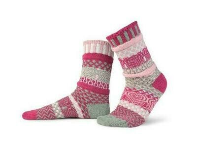 Cupid - Large - Mismatched Crew Socks - Solmate Socks