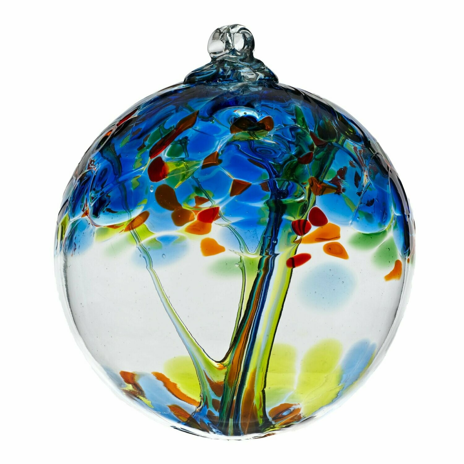 """2"""" Tree of Enchantment Friendship Ball - Dreams - Canadian Blown Glass"""