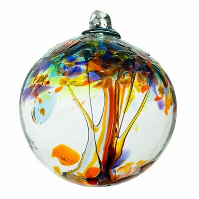"""2"""" Tree of Enchantment Friendship Ball - Happiness - Canadian Blown Glass"""