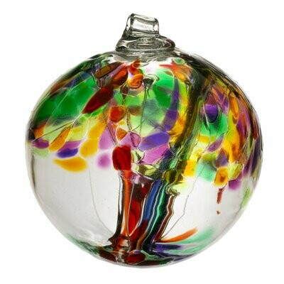 """2"""" Tree of Enchantment Friendship Ball - Life - Canadian Blown Glass"""