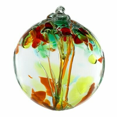 """2"""" Tree of Enchantment Friendship Ball - Sisters - Canadian Blown Glass"""
