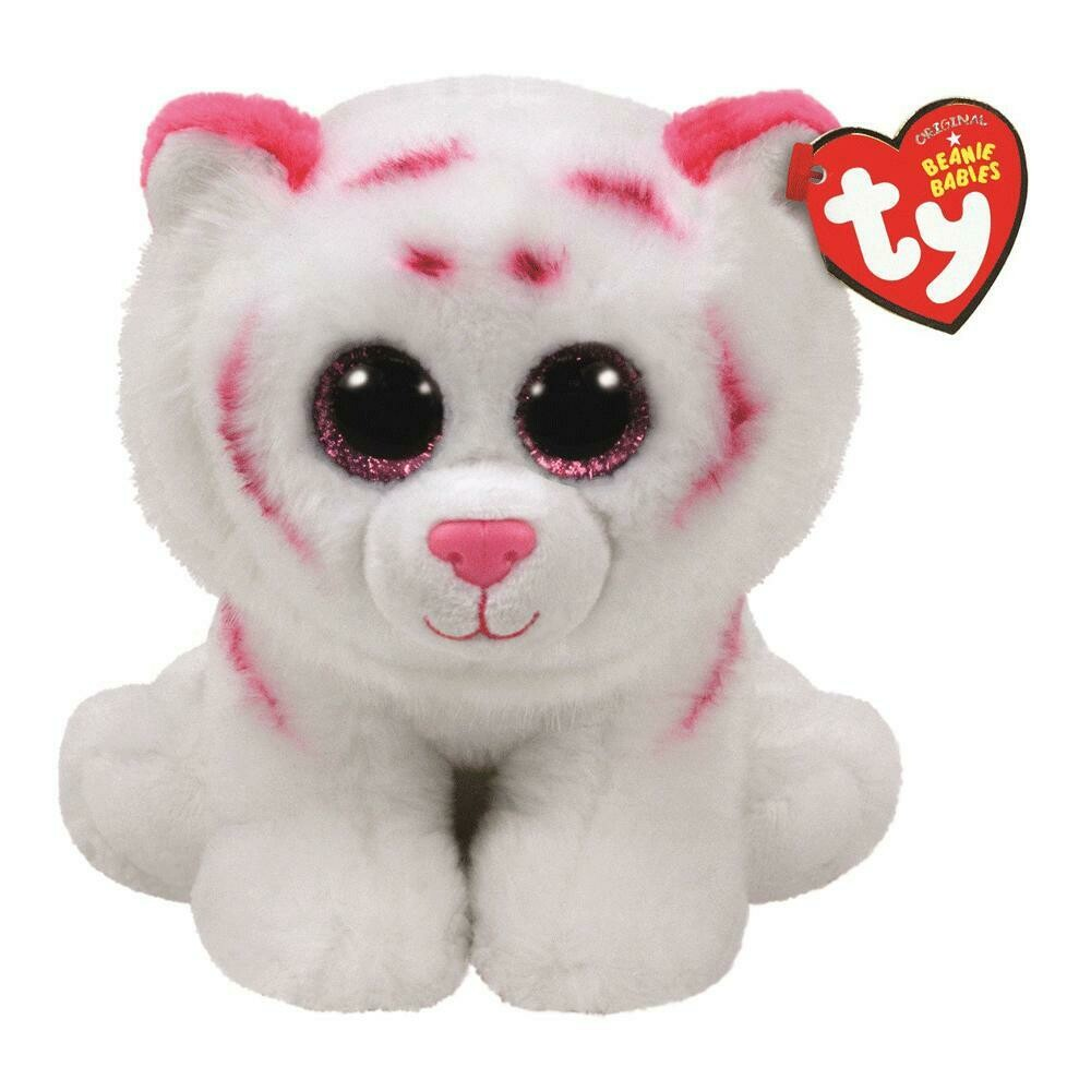 Tabor - Tiger - White with Pink Stripes - Nov. 6
