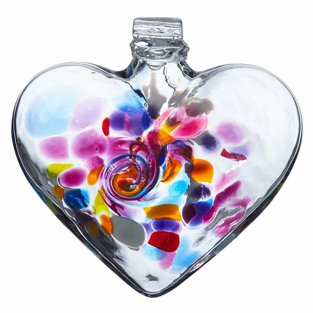 "3"" Heart of Wonder - Canadian Blown Glass"