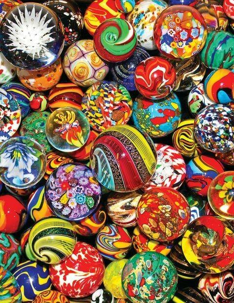 Marble Madness - 500 Piece Springbok Puzzle