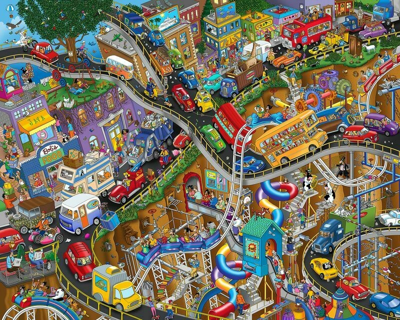 Getting Away - 1000 Piece Springbok Puzzle