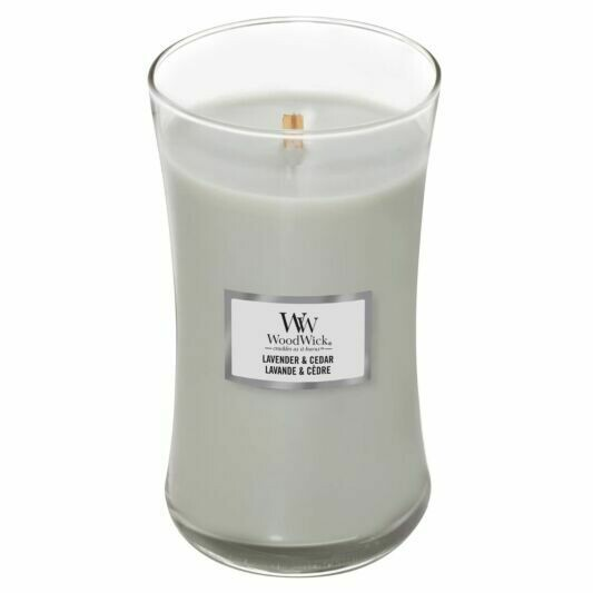 Lavender and Cedar - Large - WoodWick Candle