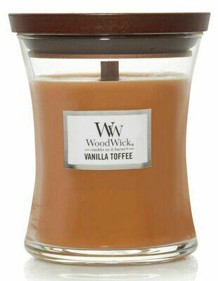 Vanilla Toffee - Medium - WoodWick Candle
