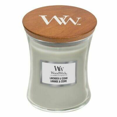 Lavender and Cedar - Medium - WoodWick Candle