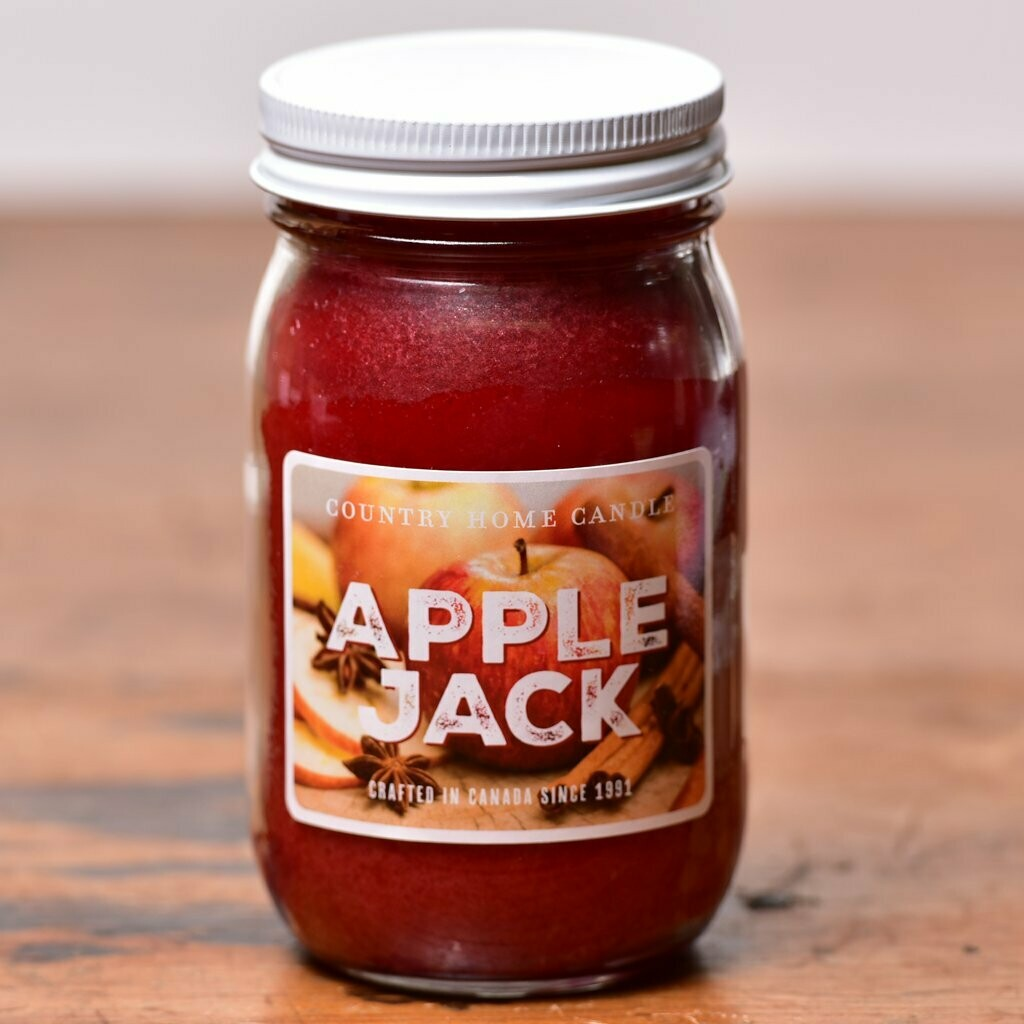 Apple Jack - Small Jar - Country Home Candle