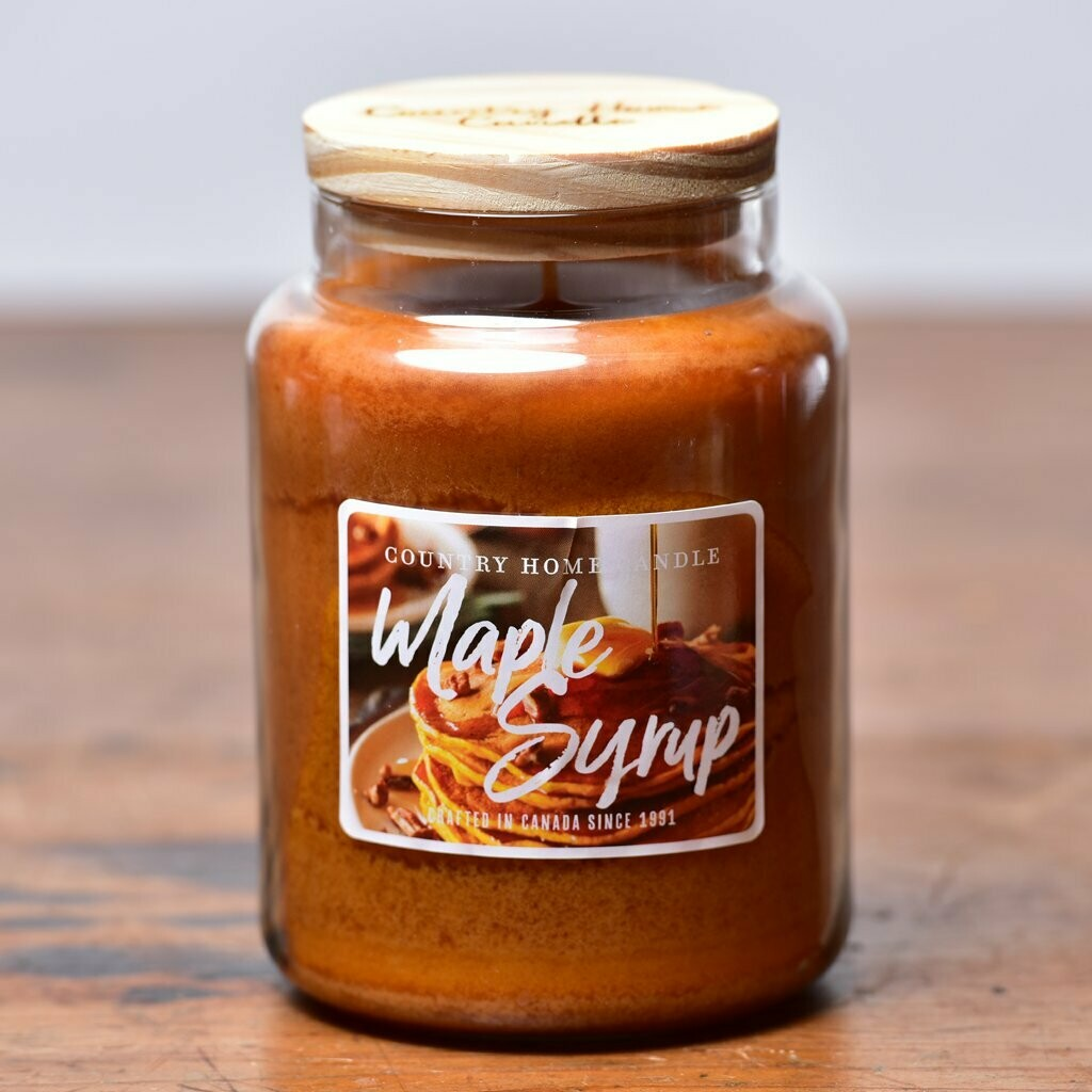 Maple Syrup - Large Jar - Country Home Candle