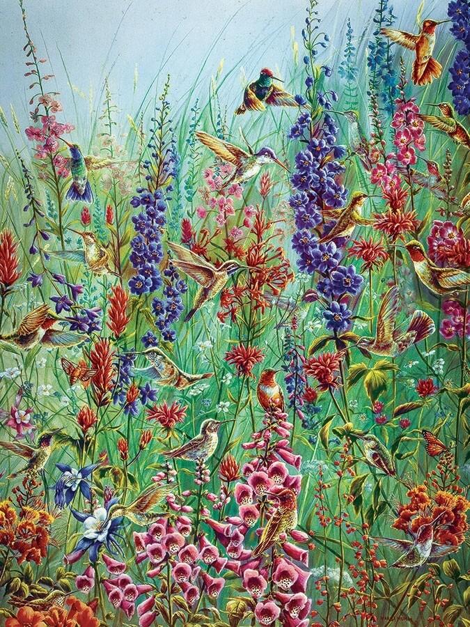 Garden Jewels - Easy Handling - 275 Piece Cobble Hill Puzzle