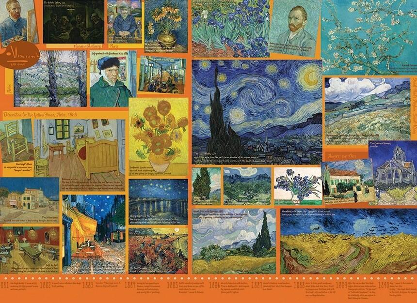 Van Gogh - 1000 Piece Cobble Hill Puzzle