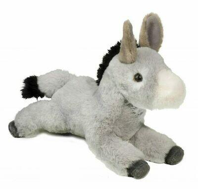 Skeffy - Soft Floppy Donkey - 10 inches - Douglas Plush