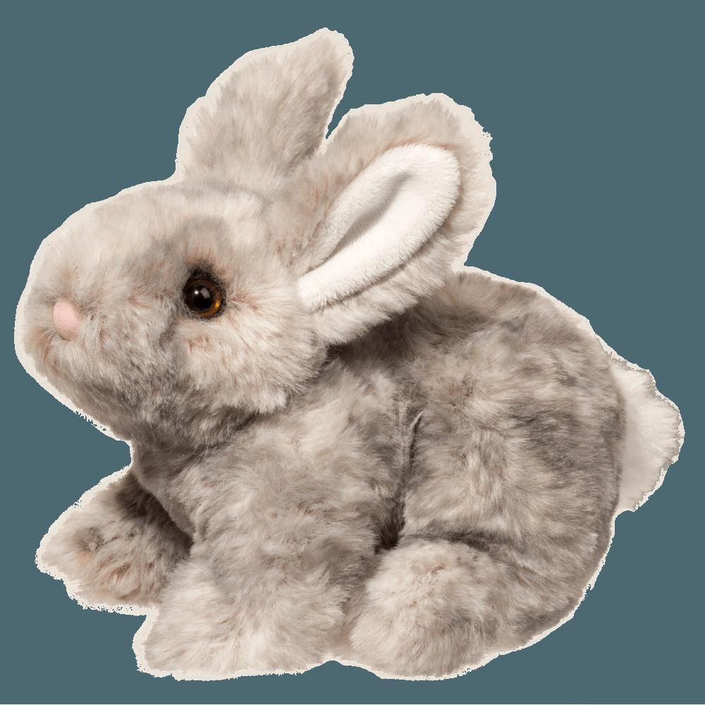 Tyler - Small Grey Bunny - 7 inches - Douglas Plush