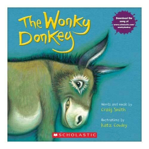 The Wonky Donkey - Paperback - by Craig Smith and Katz Cowley - Scholastic Books