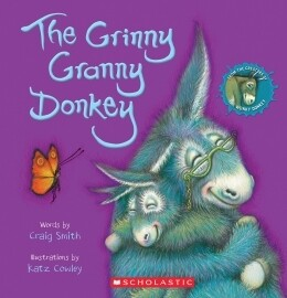 The Grinny Granny Donkey - Paperback - by Craig Smith and Katz Cowley