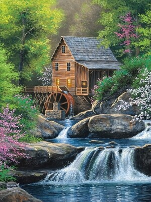 Spring Mill - Easy Handling - 275 Piece Cobble Hill Puzzle