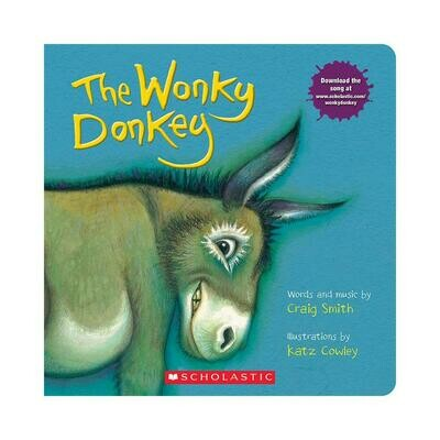 The Wonky Donkey - Board Book - by Craig Smith and Katz Cowley - Scholastic Books