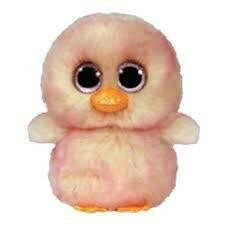 Beanie Boo - Feathers - Pink Chick - Ty Plush