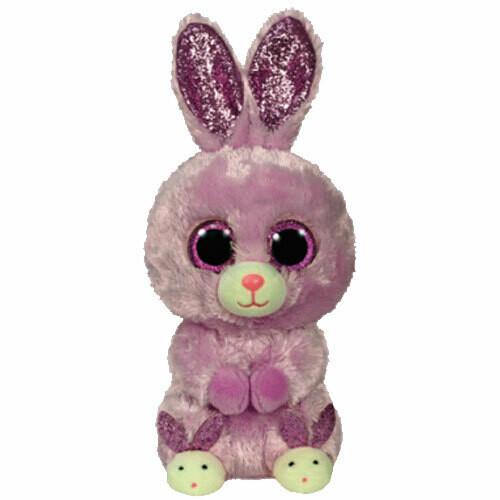 Beanie Boo - Fuzzy - Bunny with Bunny Slippers - Ty Plush