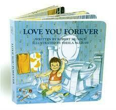 Love You Forever - Board Book