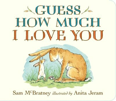 Guess How Much I Love You - Boardbook - by Sam McBratney